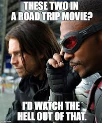 Winter Soldier Meme - road trip imgflip