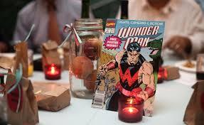 superhero wedding table decorations comic book and superhero wedding seating plans