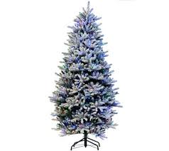 balsam fir christmas tree santa s best 6 5 rgb 2 0 flocked balsam fir christmas tree page 1