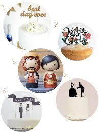 Unique Wedding Cake Toppers Etsy Finds Unique Wedding Cake Toppers The Bijou Bride