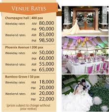 Wedding Packages The Wedding Digest