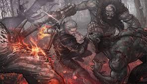 wild hunt witcher 3 werewolf wallpaper the witcher the witcher 3 wild hunt geralt of rivia