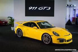 porsche gt3 malaysia porsche 991 gt3 finally launched in malaysia priced from rm1 23mil