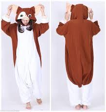 Chip Costume Ebay Gizmo Onesie Adults Onesies Pyjamas Fashion