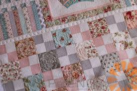 piece n quilt shabby chic meets geometric quilting custom