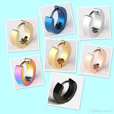 cool ear studs 2018 wholesale cool stainless steel stud earrings ear studs hoop