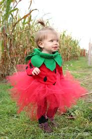 Halloween Costumes Toddler Diy Toddler Strawberry Halloween Costume Spot Tea Designs
