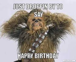 Star Wars Happy Birthday Meme - peter mayhew s star wars return confirmed for chewbacca reprise