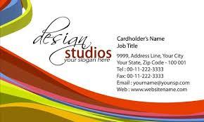 Design Patterns For Cards Design Studio Business Cards