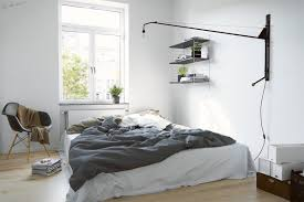 scandinavian bedroom bedroom grayscale nordic industrial inspired scandinavian bedroom