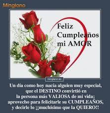imagenes romanticas de cumpleaños para mi novia mensajes de cumpleaños para el novio