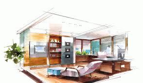 office interior design sketches beauteous interior interior new in