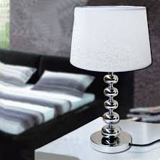 Outdoor Light Fixture With Power Outlet by Bedside Table Lamps With Usb Ports White Cloth Art Table Lamp