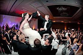 Jewish Wedding Chair Dance Bride And Groom On Chairs Jewish Wedding Tickled Pink Weddings