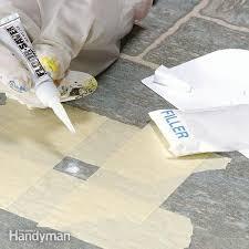 floor in vinyl flooring repair installation the family handyman