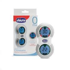 thermomètre chambre bébé bonjour bébé thermometre hygrometre chicco climasano