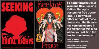 Seeking Poster Seeking Kali Seeking International S Day