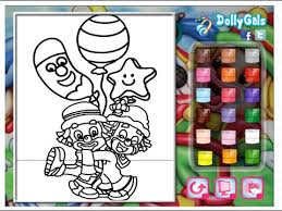 clowns coloring pages for kids clowns coloring pages youtube