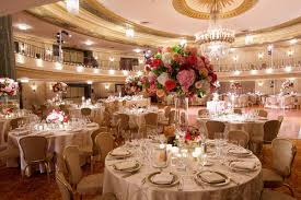 wedding reception decor customized chicago wedding with pink blush marsala color