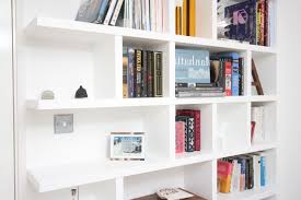 kitchen floating shelves not just a housewife before and after kids room natural brown wooden books shelves on the white wall of attracting in interior home