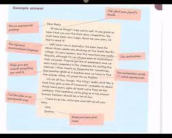 writing informal letter youtube