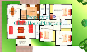 3 bedroom house plans ghana corglife