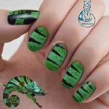 chameleon inspired nail art born pretty store review