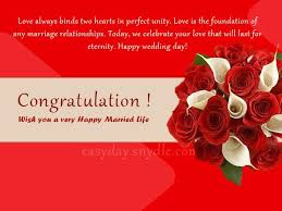 happy wedding message top wedding wishes and messages easyday