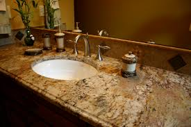 Granite Bathroom Vanity The Granite Gurus Bathroom Vanities From Our Portfolio