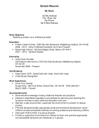Childcare Worker Resume Childcare Provider Resume Example U2026 Resumes Pinterest