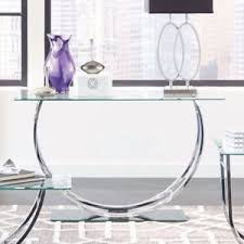Contemporary Console Table Glass Entryway Table Contemporary Console Table Silver Chrome