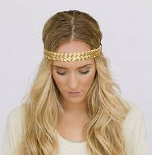 boho headbands godbead boho headbands braided gold headband metallic leatherette