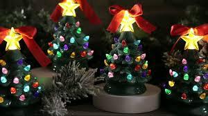 mr set of 4 mini nostalgic tree ornaments with gift