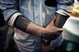50 black band tattoo designs for men bold ink ideas