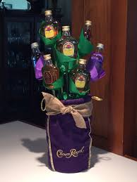 Crown Royal Gift Set Liquor Bottle Bouquet Crown Bouquet Style Pinterest Liquor