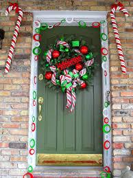 door decorations for christmas 50 best christmas door decorations for 2017 front door decorations