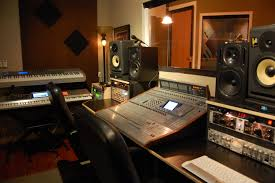 Recording Studio Mixing Desk by Recording Studio