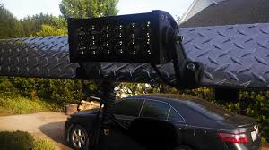 headache rack with light bar post your led lightbar pics win a lightbar
