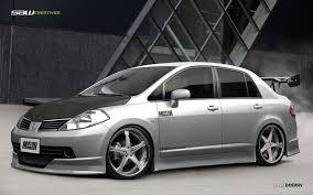tiida nissan hatchback nissan tiida sedan frontview by yasiddesign on deviantart