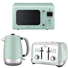 Kettle Toaster Sets Uk Mint Green Daewoo Retro Design Microwave Breville Kettle