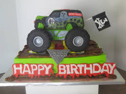 monster jam grave digger truck monster jam cake byrdie custom cakes