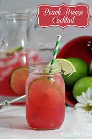 cocktail recipes summer cocktail recipes beach breeze happy mothering