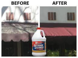 Best Way To Clean Rv Awning Clean Your Awnings With 30 Seconds Outdoor Cleaner