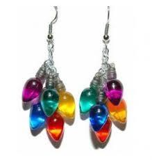 light up christmas earrings christmas light up earrings ideas christmas decorating