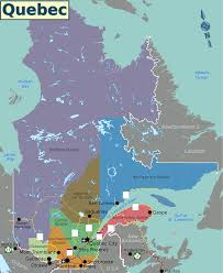 Maps Canada by Quebec Regions Map Maps U0026 Cartographic Material Pinterest Quebec