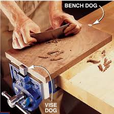 Install Bench Vise All About Vises
