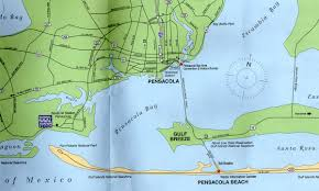 Pensacola Florida Map by Tony U0027s Thoughts On The Natural World Ii Gulf Breeze And Pensacola