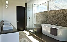 mosaic tile backsplash bathroom interior wonderful glass mosaic