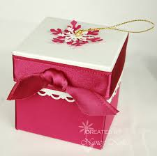 ornament gift box seaside creativity