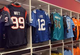 Nfl Usa Map by Top Selling Nfl Jerseys By State
